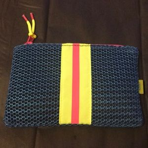 Ipsy workout netted makeup bag